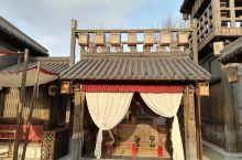 董永七仙女文化园,大门很不起眼,没想到这个园很大,前门进后门出,不走回头路。千万没逛完别出去,出去后