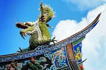 霞海城隍廟燕尾脊上的飛龍🐲 #海岛夏天有你真甜 #人生旅途中的相遇 #窗外风景