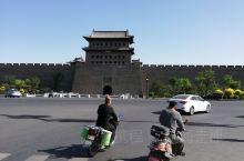 开始山西之旅第一站大同古城墙