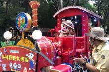 广州长隆野生动物园,花车游行