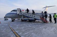 锡林浩特第一次坐国产ARJ21