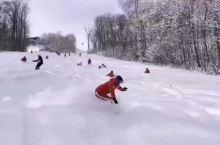 长白山野雪嗨翻天