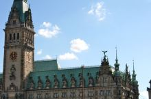 汉堡印象,打卡雄伟壮观的市政厅。