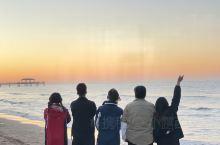 想请你来北戴河蔚蓝海岸看一场日出日落