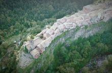 西班牙小众悬崖城市航拍