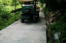 中寨村鬼溪秘境正在建设的网红小火车