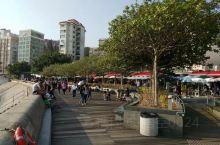 #中秋国庆出游打卡 香港赤柱的海边,人们休闲游玩的好地方。