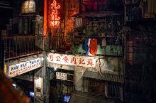 香港街头的夜景