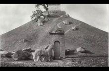 1914年法国人拍摄的真实霍去病墓