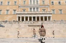 欧洲之旅一一希腊雅典宪法广场