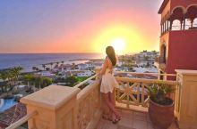 西班牙特内里费岛的日落