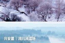 兴安盟丨洮儿河的冬天,竟如此妖娆