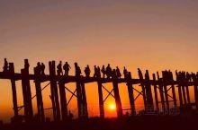 缅甸乌本桥