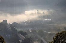 随风随拍-回味家乡的雾景