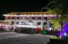 夜晚里的凤凰山宾馆