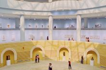 陕西省美术博物馆 当阳光穿过穹顶