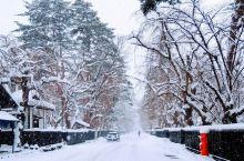 角馆武家屋敷的冬日雪景!