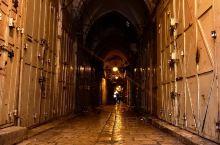 夜幕下的耶路撒冷
