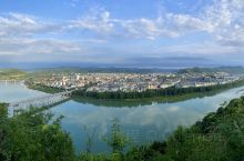 阆中古城夏日美景
