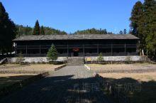 江西井冈山的中国红军第四军医院旧址。