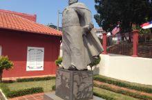 马来西亚马六甲郑和下西洋的雕像。
