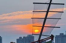 大稻埕碼頭的落日 #海岛夏天有你真甜 #暑假去哪儿玩
