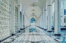 Olivia@吉隆坡打卡 蓝色清真寺