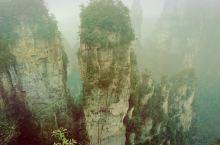 张家界一个梦幻的旅游地!纯自然的鬼斧神工