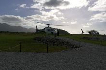 新西兰南岛,飞越雪山