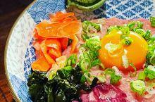 在平成十九吃到久違的月見蔥花鮪魚丼 #抓住夏天的尾巴 #网红打卡地 #美食寻味记 #手机摄影家