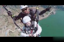 滑翔伞   空中三百六十度大回转