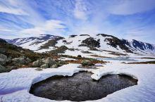 """在挪威自驾冷峻""""雪之路""""老斯特林山路"""