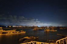 茅尾海的夜晚不错,星空很漂亮