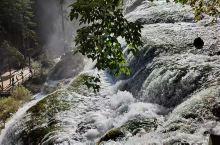 九寨沟-珍珠滩瀑布,人间值得。