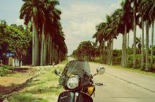 骑上了我心爱的小摩托----海南