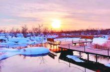 冬天五大连池美到极致的旅行地,你都去过吗