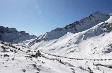 冬日达古,海拔超5000米的山峰