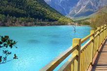 云南玉龙雪山蓝月谷真的是太美了!