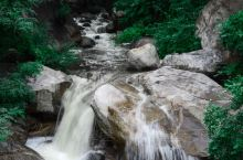 山东 临沂:雨后沂蒙山的飞瀑流泉