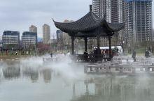 烟雨九龙湖
