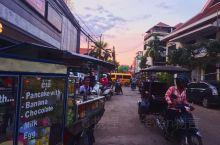 因为微笑」属于暹粒漫画色彩|柬埔寨