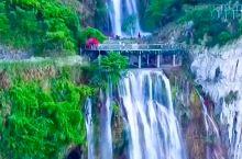 湖北黄石Ⅰ滴水成瀑,烟波叠翠,滴水崖瀑布