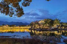 溪口风景区:白天夜景都很美丽