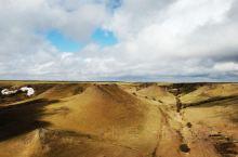 壮观的平顶山火山群地质公园