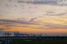 杭州湾旁美丽的港湾
