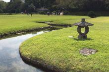 日本三大名园之一的岡山后乐园