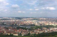 佩特任瞭望塔看到的布拉格全貌