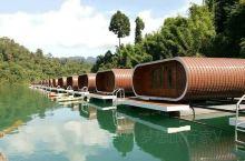 泰国水上浮屋