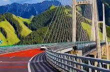 新疆伊犁果子沟大桥#新疆自驾游攻