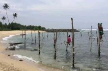 斯里兰卡高跷渔夫